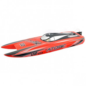 Volantex Racent Atomic 70cm Brushless Racing Speed Boat ARTR Red no Bat/Chg
