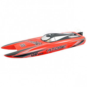 Volantex Racent Atomic 70cm B/Less Raceboat Combo Rtr Red