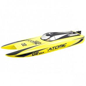 Volantex Racent Atomic 70cm Eu B/Less Raceboat Rtr Combo(Yel)