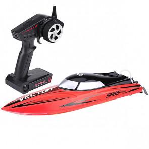 Volantex Racent Vector Sr65cm B/Less Raceboat Rtr Combo Red
