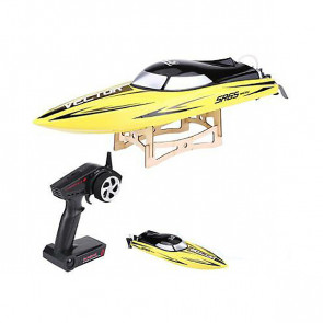 Volantex Racent Vector Sr65cm Brushed Race Boat Rtr Yellow