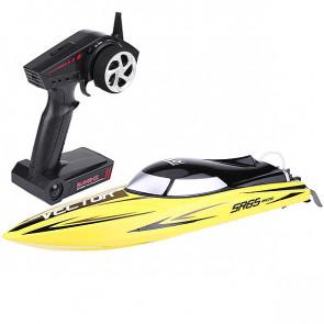 Volantex Racent Vector Sr65cm B/Less Boat Eu Combo Rtr Yell