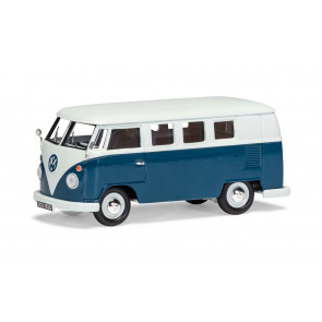 Volkswagen Type 2 Camper, Sea Blue & Cumulus White - Limited Edition Corgi 1:43 Car