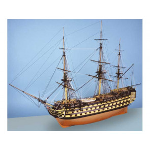 HMS Victory (1805 Trafalgar) Scale 1:72 Period Ship Highly Detailed, Accurate, Wooden Kit