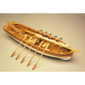 Mantua Panart HMS Victory Sloop Long Boat Wooden Ship Kit Scale 1:16