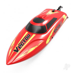 Volantex Vector 30 Brushed RTR RC Racing Boat (Red)