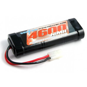 Voltz 4600mAh 7.2v NiMH RC Car Battery Stick Pack w/Tamiya Connector