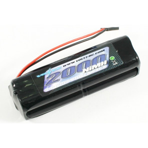 Voltz 2000mAh 9.6V NiMH Tx Transmitter Square Battery Pack for RC Car Plane Boat