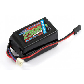Voltz 2300mAH 2S 7.4V LiPo Receiver Hump Battery Pack