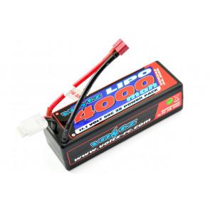 Voltz 4000mAh 3S 11.1V 50C Hard Case LiPo RC Car Battery w/XT60 Connector Plug