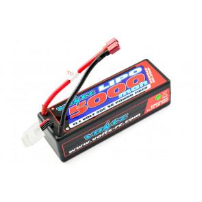 Voltz 5000mAh 3S 11.1V 50C Hard Case LiPo RC Car Battery w/EC5 Connector Plug