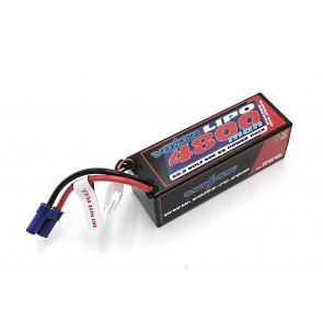 Voltz 4800mAh 6S 22.2V 50C Hard Case LiPo RC Car Battery w/EC5 Connector Plug