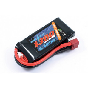 Voltz 1300mAh 3S 11.1v 30C LiPo RC Battery w/Deans Connector Plug