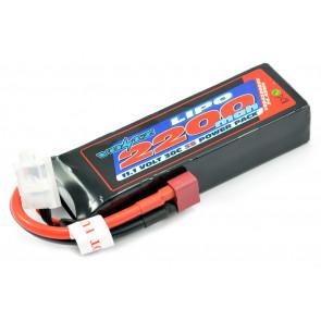 Voltz 2200mAh 3S 11.1V 30C LiPo RC Battery w/EC3 Connector Plug