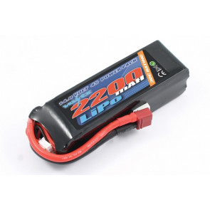 Voltz 2200mAh 4S 14.8v 30C LiPo RC Battery w/Deans Connector Plug