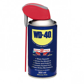 WD-40 Multi-Use Smart Straw Penetrating Lubricant Oil 300ml Aerosol