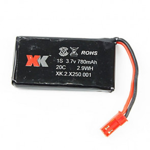 XK Innovations 3.7v 780mAH LiPo Battery for X250 and X260 Drones