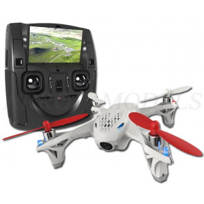 Hubsan X4 FPV Quad Copter with Live Video Screen, Recording, Lights - Mode 1