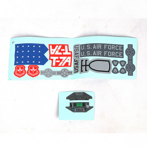 X-Fly T-7a Red Hawk Decal Sheet