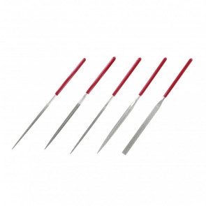 Diamond Needle Files (Set of 5) PFL6002 Hobby Tools - Model Craft Collection