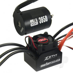 ZTW 1:10 Beast SLL 45A Combo + 4P SL 3650B 3450Kv Motor