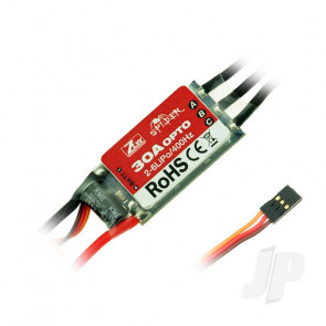 ZTW Spider 30A Opto ESC (2-6 Cells)