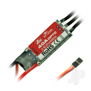 ZTW Spider 40A Opto ESC (2-6 Cells)