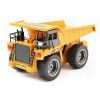 1/18th Scale 6 Channel RC Dump Truck with Metal Cab & Wheels, Lights