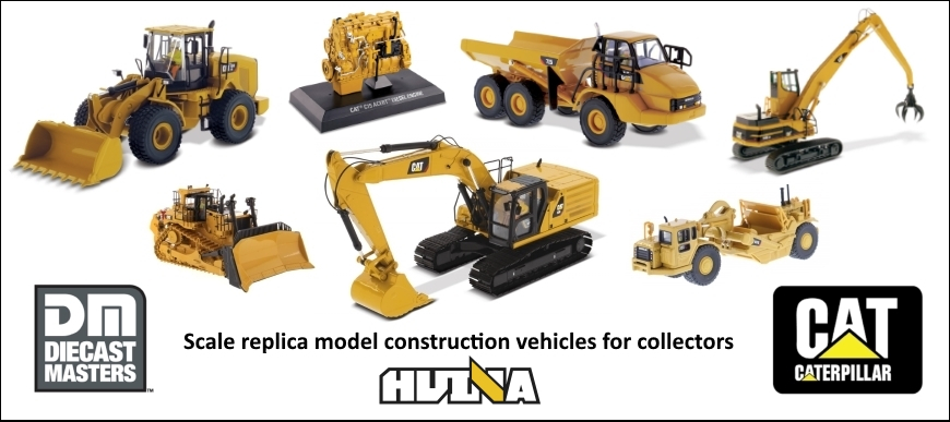 Diecast Construction Vehicles